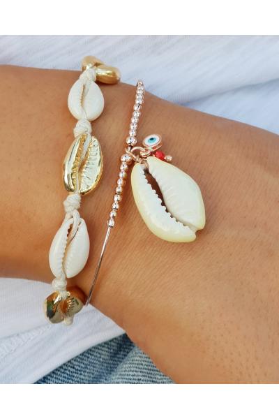 Küçük Deniz Kabuklu Bileklik Küçük Deniz Kabuklu Bileklik