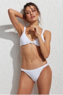 Tluen Ayarlanabilir Bikini Altı Beyaz LM18206_White