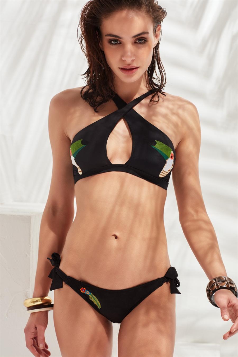 Toucan Bikini Üstü Black LM17103