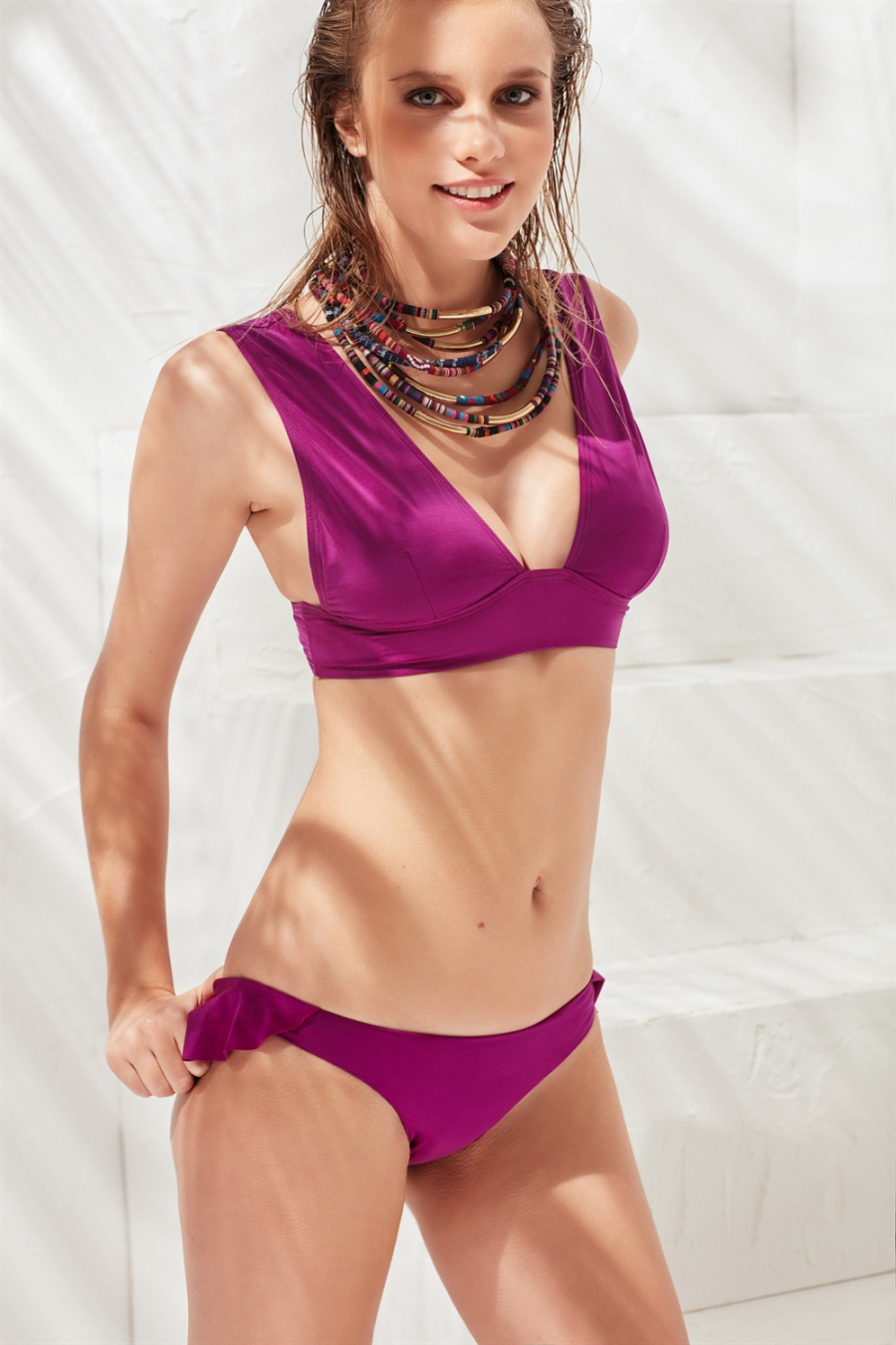 Fairy Tail Bikini Üstü Purple LM17105