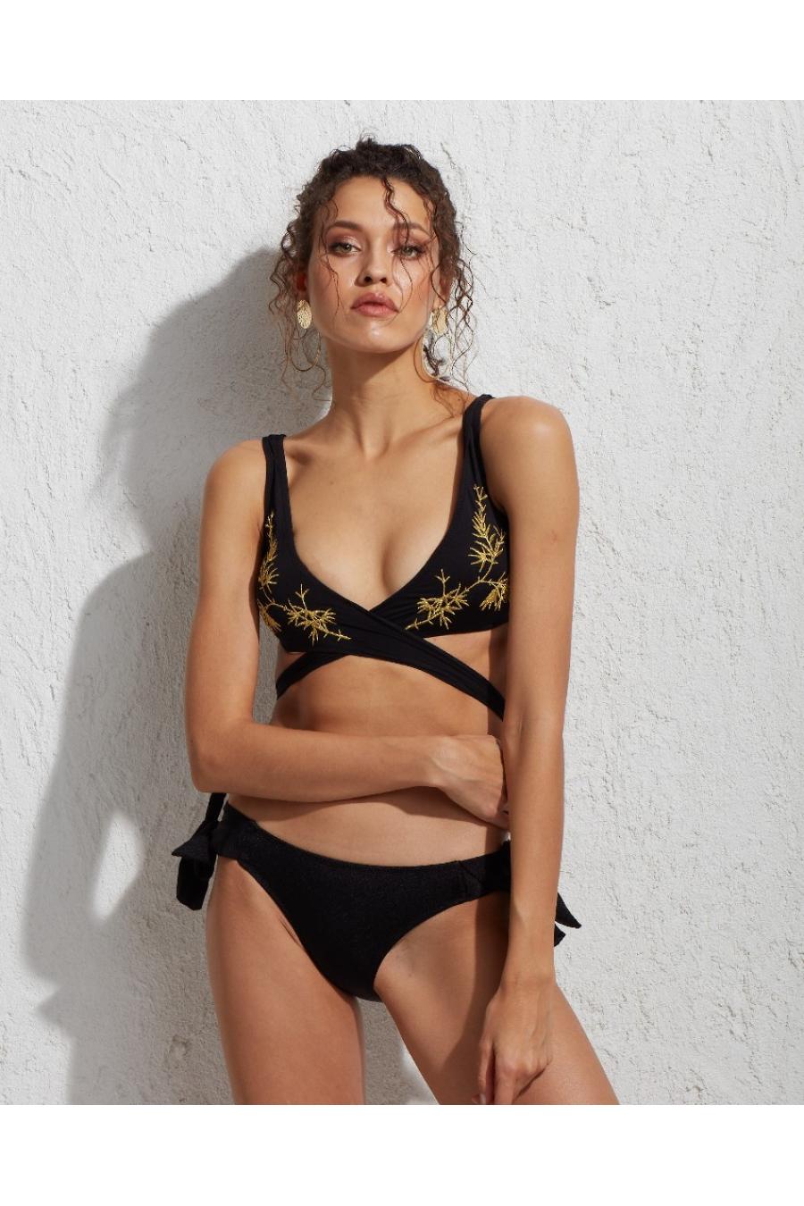 Zoe Bikini Üstü Black LM17106