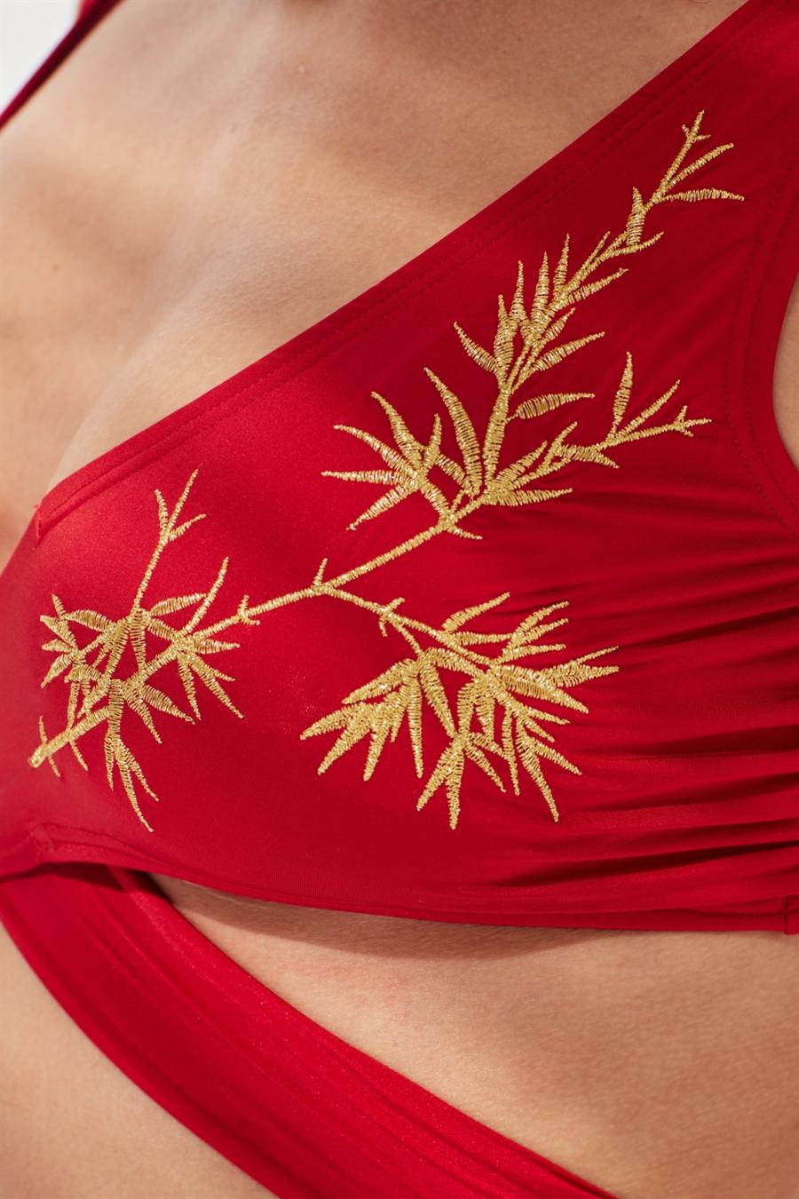 Zoe Bikini Üstü Red LM17106