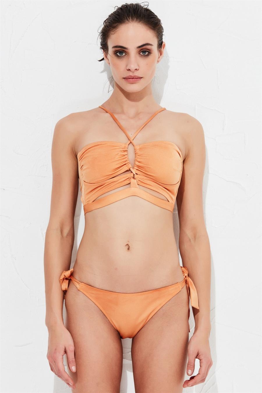 Bella Bikini Üstü Bronze LM17110