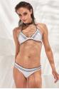 Crochet Bikini Üstü White LM17112