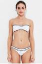 Crochet Bikini Üstü White LM17113