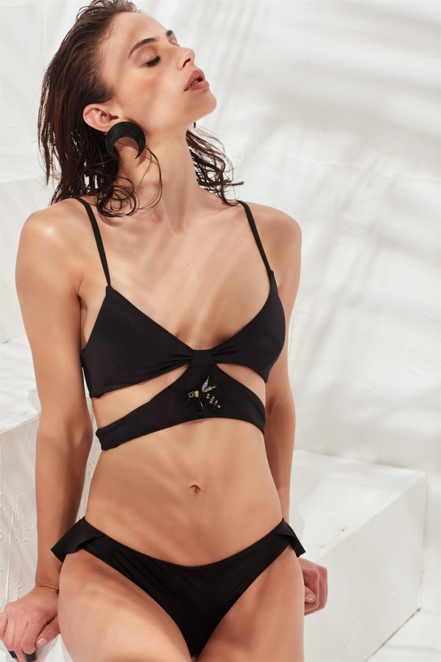 Joane Bikini Üstü Black LM17117
