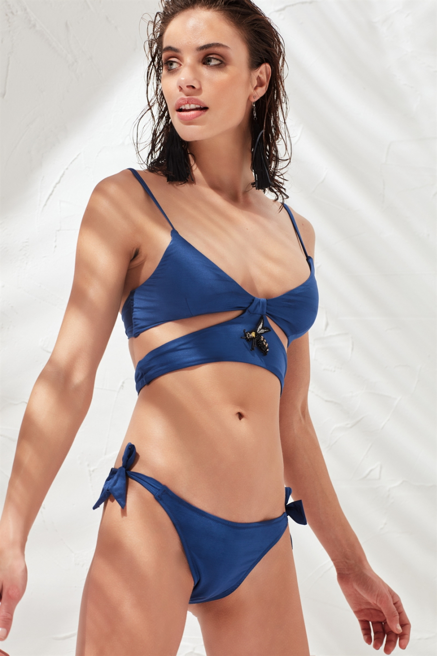 Joane Bikini Üstü Navy LM17117