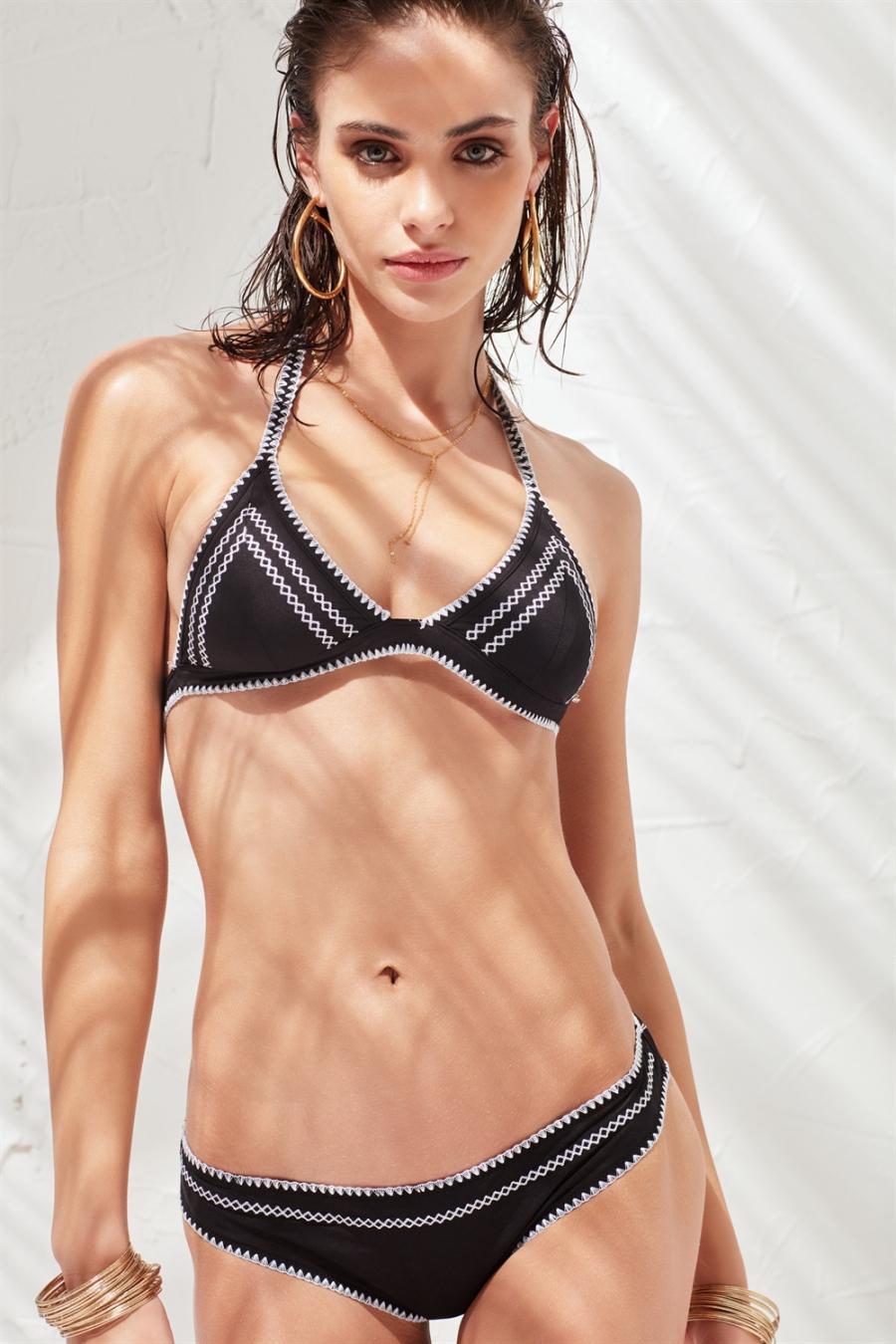 Crochet Bikini Altı Black LM17202