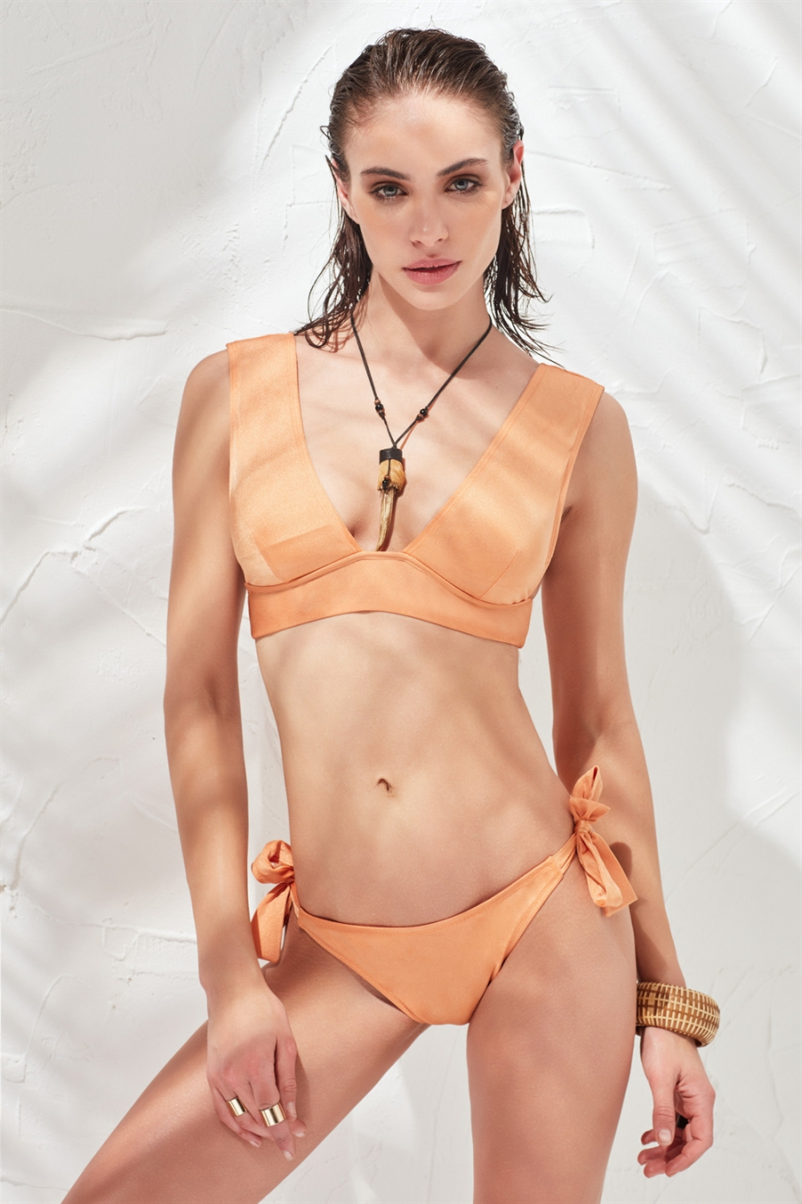 Classic Bikini Altı Bronze LM17204