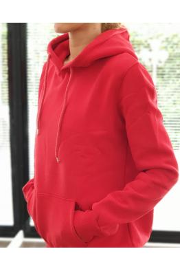 Ugly Berry Ugly Berry Kırmızı Basic Sweatshirt