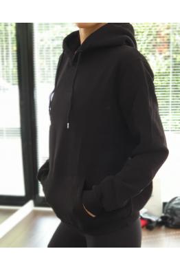 Ugly Berry Ugly Berry Siyah Basic Sweatshirt