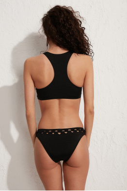 Less is More Maui Siyah Bikini Altı LM18203 Black