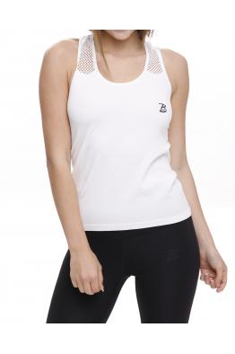 Beauty Fit Beyaz File Detaylı Spor Atlet BT3001