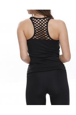 Beauty Fit Siyah  File Detaylı Spor Atlet BT3001