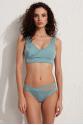 Sapphire Askılı Toparlayıcı Bikini Üstü LM19102 Yeşil