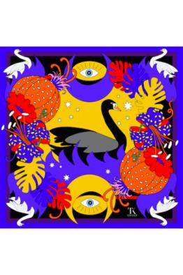 Tukutukum Tukutukum Black Swan Pareo