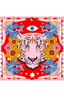 Tukutukum Tukutukum Pink Tiger Pareo