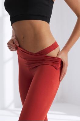 Less is More Tarçın Yüksek Bel Spor ve Yoga Taytı 208213_TARCIN