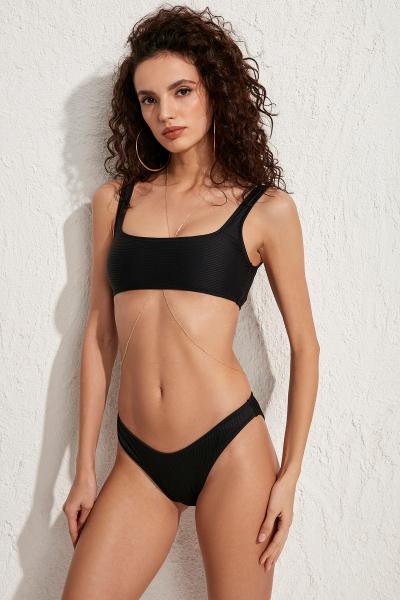Diana Siyah Bikini Üstü LM20110_Black