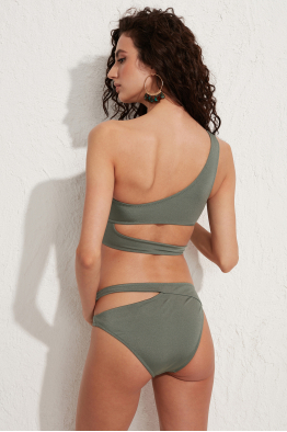 Less is More Dionis Haki Bikini Altı LM20201_Army