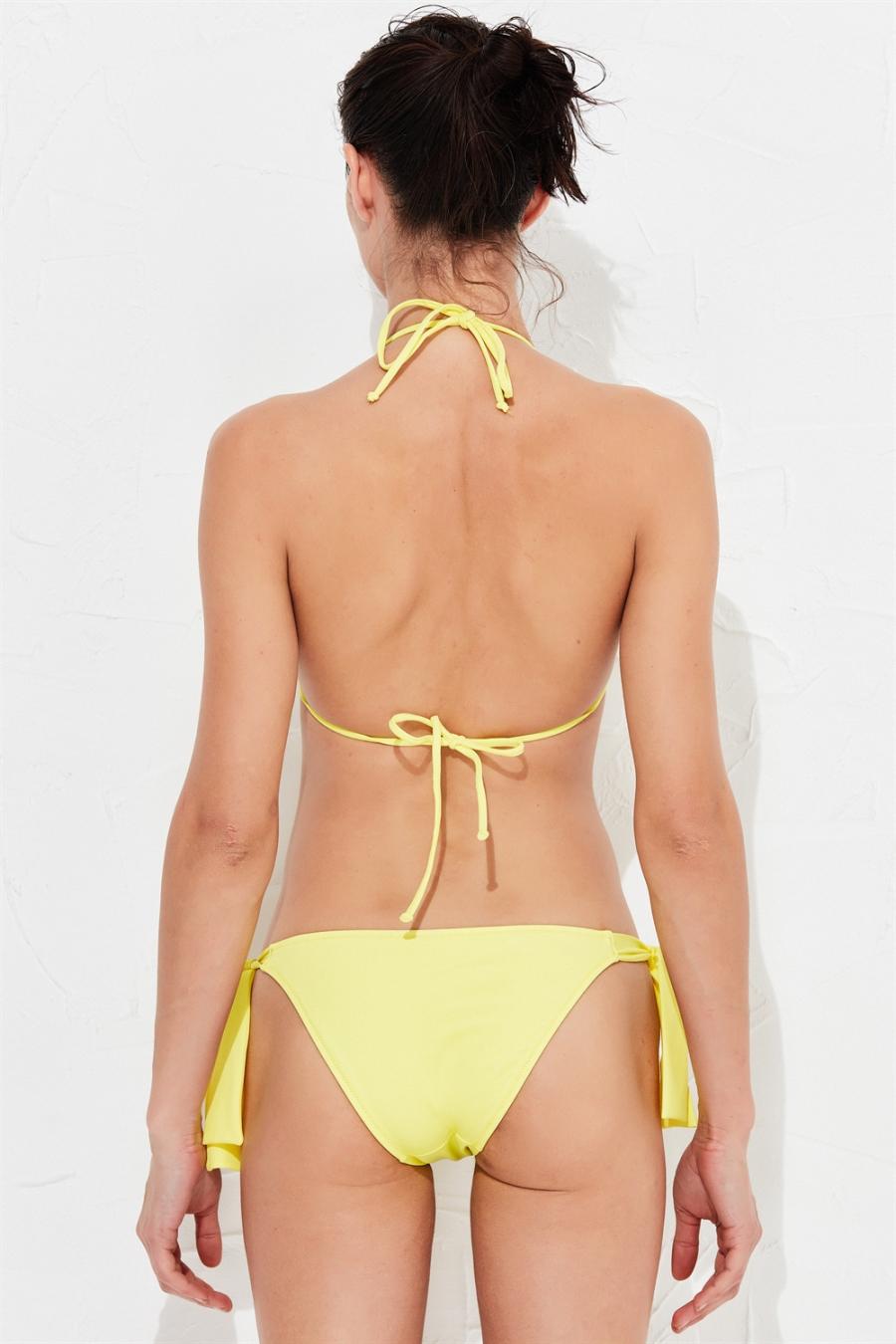 Flower Bikini Üstü Yellow LM17114