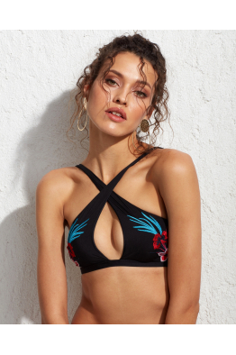 Less is More Tahiti Bikini Üstü Black LM17130