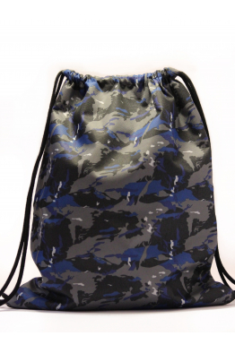 Jaunette Kangaroo Blue Kamuflage