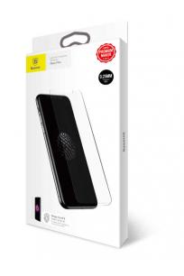 Apple iPhone X Baseus 0.25mm Full Glass Anti Fingerprint Tempered Glass