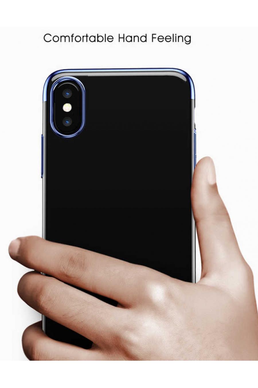 Apple iPhone X Kılıf Baseus Glitter Case