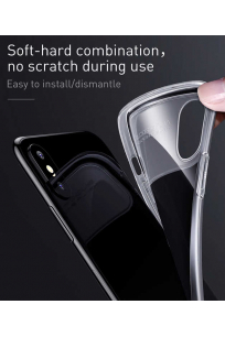 Apple iPhone X Kılıf Baseus Slim Lotus Case