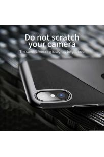 Apple iPhone X Kılıf Baseus Card Pocket Back Cover