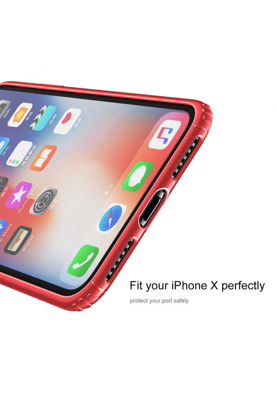 Apple iPhone X Kılıf Baseus Soft Back Cover
