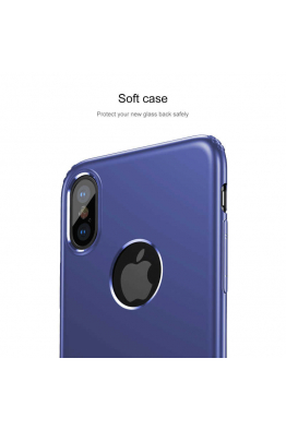 Baseus Apple iPhone X Kılıf Baseus Soft Back Cover