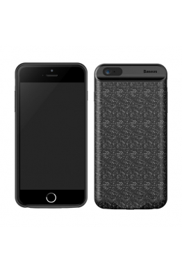 Baseus Baseus iPhone 6s Plaid Backpack Powerbank Şarjlı Kılıf 2500mAH ACAPIPH6-BJ01