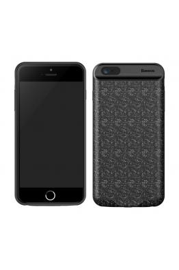 Baseus Baseus iPhone 6s Plus Plaid Backpack Powerbank Şarjlı Kılıf 3650mAH ACAPIPH6SP-BJ01