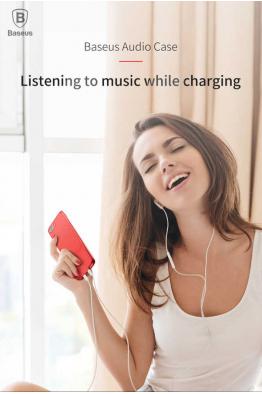 Baseus Apple iPhone 7 Kılıf Baseus Audio Case