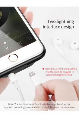 Baseus Apple iPhone 8 Kılıf Baseus Audio Case