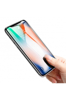 Baseus Apple iPhone X Baseus 0.23mm Drop-Proof Curved Full Screen Tempered Glass Film