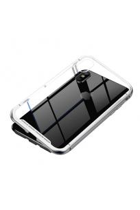 Apple iPhone X Baseus Magnetic Metalic Case Kılıf