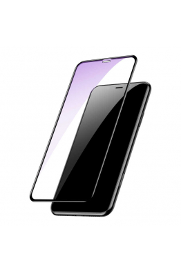Baseus Apple iPhone XS Max 6.5 Baseus Full Coverage Tempered Glass With Anti Bluelight Function