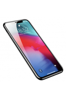 Baseus Apple iPhone XR 6.1 Baseus Full Coverage Curved Tempered Glass