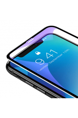 Baseus Baseus iPhone XS Max Rigid-Edge CS Anti-Blue-Light Cam Ekran Koruyucu