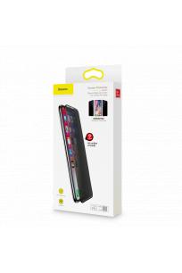 Baseus iPhone XR Rigid-Edge Anti-Spy CS Cam Ekran Koruyucu