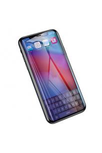 Apple iPhone XR 6.1 Baseus 0.2mm All-Screen Arc-Surface Anti Blue Light Tempered Glass