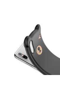 Apple iPhone XS 5.8 Kılıf Baseus Bear Silikon
