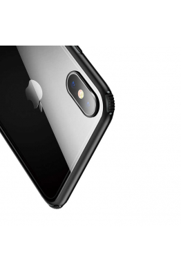 Baseus Apple iPhone XS Max 6.5 Kılıf Baseus See-Through Glass Protective Case