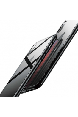 Baseus Apple iPhone XR 6.1 Kılıf Baseus See-Through Glass Protective Case