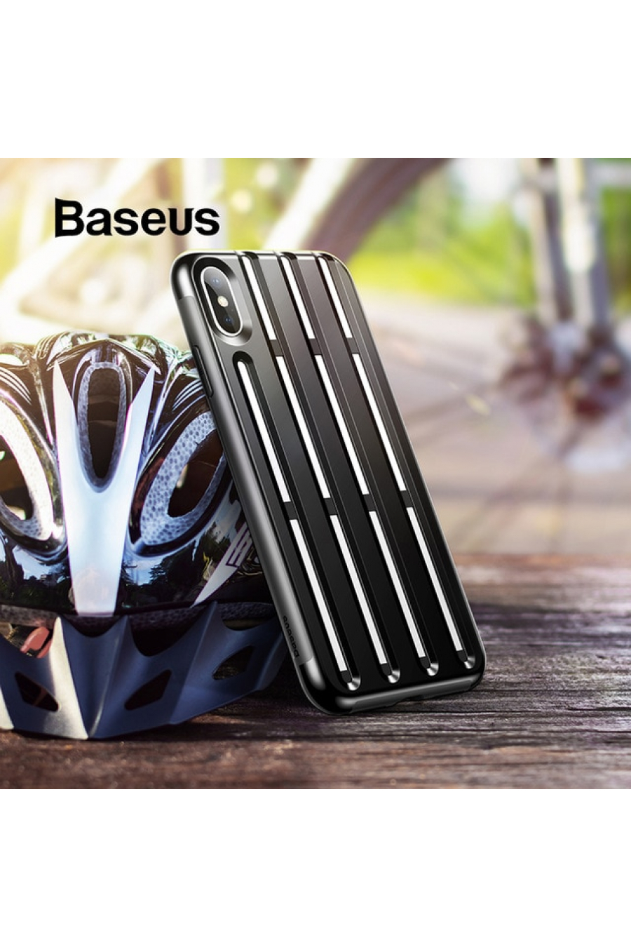Baseus iPhone XS Max Cycling Helmet Kılıf