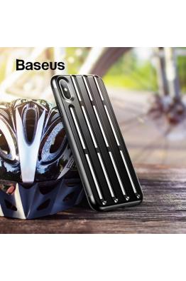 Baseus Baseus iPhone XS Max Cycling Helmet Kılıf