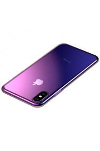 Apple iPhone XS 5.8 Kılıf Baseus Glow Case